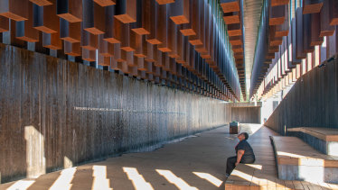 National Memorial for Peace and Justice, Montgomery, Alabama. MASS Design Group (2018).