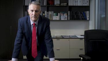 University regulator chief executive Anthony McClaran.