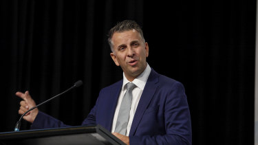 """NSW Transport Minister Andrew Constance says debate about road pricing will morph into """"mobility pricing""""."""