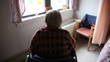 The royal commission has heard of the harrowing final days of an elderly woman's life (file image).