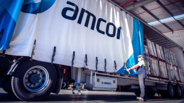 Amcor's share price previously traded at a premium not only to its peers in packaging but to the big multinational consumer companies that are its customers.
