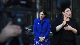 NSW Premier Gladys Berejiklian announced a special commission of inquiry into the Ruby Princess on Wednesday.
