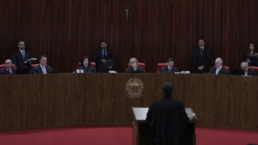 The court held the hearing through the night.