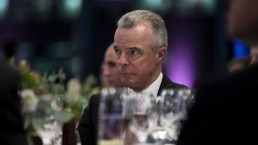 Former War Memorial director Brendan Nelson, now a director of Boeing.