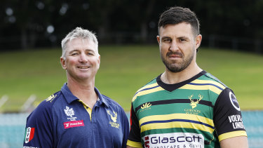 Darren Coleman (left) lifted Gordon from the wooden spoon to a Shute Shield title inside three years.
