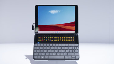 The Surface Neo, with its detachable keyboard.