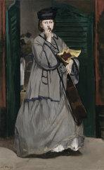 Edouard Manet French 1832–83 Street singer c. 1862 oil on canvas.