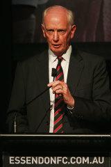 Paul Brasher will take over as president.