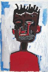 Jean-Michel Basquiat's Self portrait (1984).