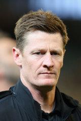 Adelaide assistant coach Ben Hart.