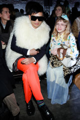 Rebels with a cause ... with Tavi Gevinson at New York Fashion Week in 2011.
