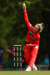 Maitlan Brown during her time with the Renegades.