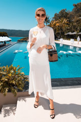 Kate Waterhouse ... don't wear white to a wedding.