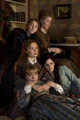 Clockwise from top left, Saoirse Ronan, Laura Dern, Emma Watson, Florence Pugh and Eliza Scanlen in Greta Gerwig's Little Women.