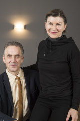 Jordan Peterson and his wife Tammy.