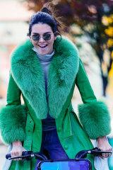 Model Kendall Jenner is one of Saks Potts' celebrity fans.