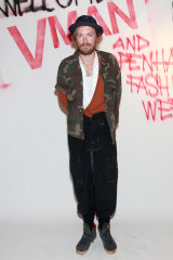 Evi admires Danish designer  Henrik Vibskov, who also  makes music and art.