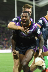 Suliasi Vunivalu was a try-scoring machine for the Melbourne Storm.
