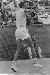 Made short work of Crealy... Ashe in action on January 27, 1970.