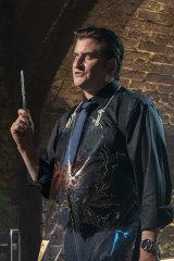 Lachy Hulme as Frankie in Preacher season 4 .