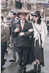 Earl and Nancy Waterhouse recreated byEmeritus Professor Richard Waterhouse and his daughter Isabel Waterhouse.