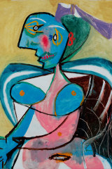 The NGA's Matisse & Picasso show was thwarted by the pandemic. Pablo Picasso's Woman from Arles (Lee Miller) 1937.