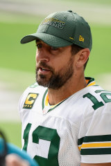 Aaron Rodgers starred for Green Bay.