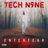 Tech N9ne's Enterfear album cover.