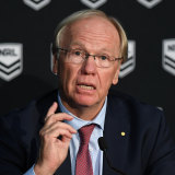 Former ARLC chairman Peter Beattie.