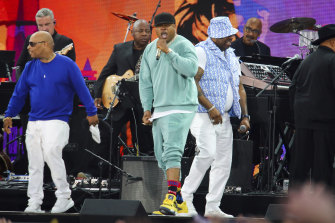 LL Cool J performs at We Love NYC: The Homecoming Concert.