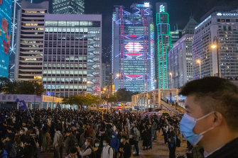 Hong Kong has been plagued by months of protests. Those protests show no sign of abating over Christmas.