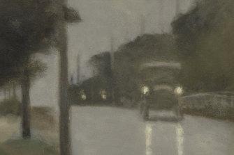 Clarice Beckett, Motor lights, 1929