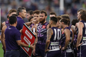 Justin Longmuir has led the Dockers well the last two seasons.