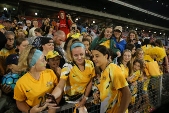 Homeward bound: The Matildas will play in Australia for the first time in almost two years.