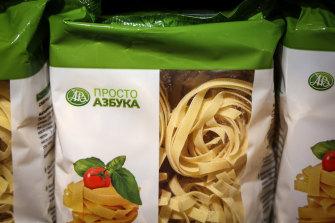 Pasta prices have caught President Vladimir Putin's attention.
