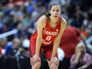 Canada's Kim Gaucher.