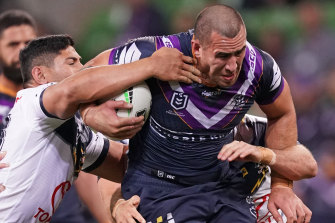 Storm's Nelson Asofa-Solomona is in a purple patch of form.
