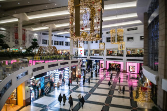 Westfield's malls are bouncing back.