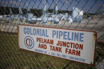 """One expert said the $US5 million ransom for the Colonial Pipeline was """"very low""""."""