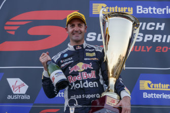 Jamie Whincup is rapt to be back on the podium after his long-awaited win in the Supercars Championship.