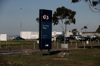 Port Phillip Prison.