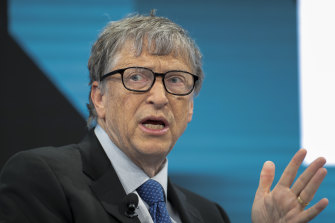"Bill Gates, pictured, said the decision to suspend funding to the World Health Organisation was ""dangerous""."
