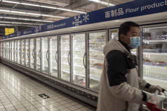 The virus has been found on shipments of frozen foods in the Chinese cities of Shenzhen and Yantai.