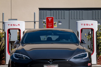Tesla shares jumped 2 per cent in after-hours trading.