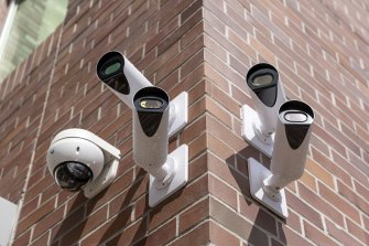 Hackers say they gained access to the feeds of 150,000 surveillance cameras after finding a password exposed on the internet.