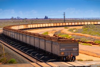 China is trying to reduce its reliance on Australian iron ore.