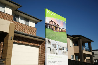 Australian Bureau of Statistics data showed a 6.7 per cent jump in the June quarter in its measure of house prices.