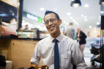 Star maths teacher Eddie Woo