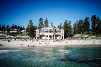 Perth's Cottesloe Beach has been the scene of two fatal shark attacks since 2000.