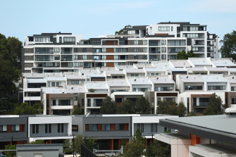 Some areas of Sydney have an aversion to high density living.
